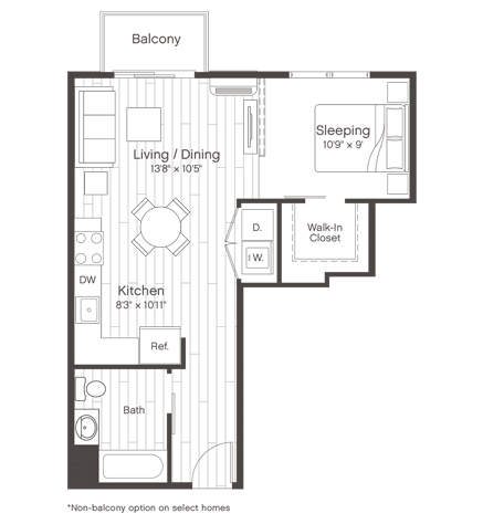 Floorplan of Unit S5