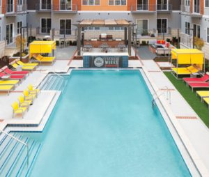 Steel Works Pool Deck